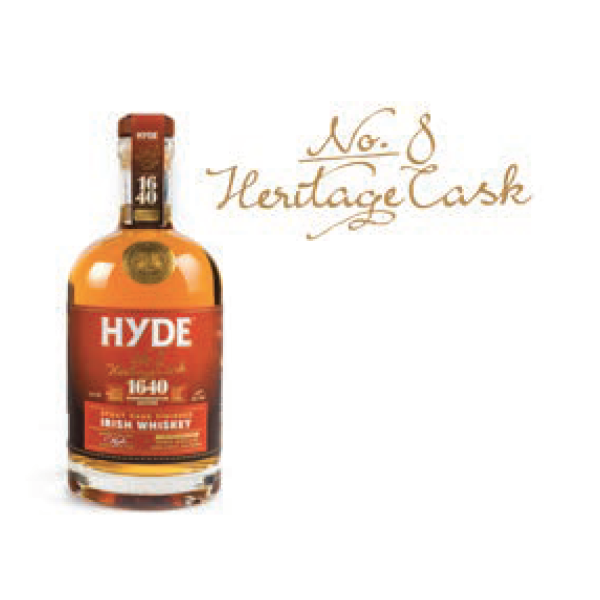 Hyde N°8 Stout Finish 43° 70CL