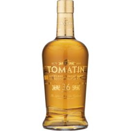 Whisky Highland Tomatin 36 ans Coffret bois  46° 70cl