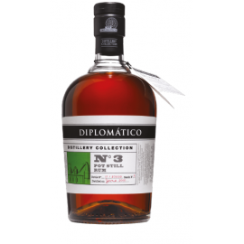 Rhum Blanc Venezuela Diplomatico Collection N°3 Pot Still 47° 70cl