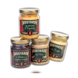 Moutarde au piment d'espelette Louis ROQUE 100gr