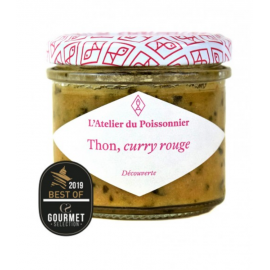 L'atelier du Poissonier Tartinable De Thon et Curry Rouge 90g