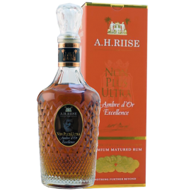 Rum AH RIISE Non Plus Ultra Ambre d'Or Excellence 42% 70cl