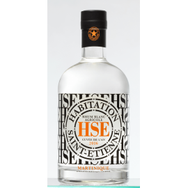 Rhum Martinique Blanc HSE 2016 50° 70 cl