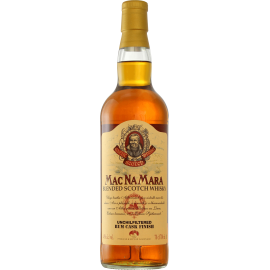 Whisky Blended Gaelic Macnamara Rhum Finish 40° 70cl