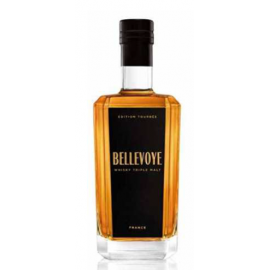 Whisky France Bellevoye Triple Malt Noir 43° 70cl