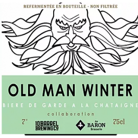 Bière OLD MAN WINTER 7° 75cl