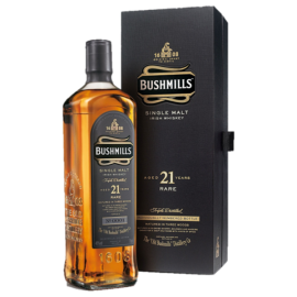 Whisky Irish Bushmills Single Malt 21 ans Madeira 40° 70cl